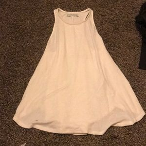 Large cream Abercrombie and Fitch soft tank